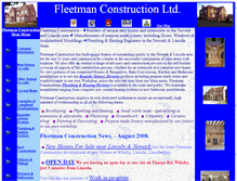 Tablet Preview of fleetman-construction.co.uk